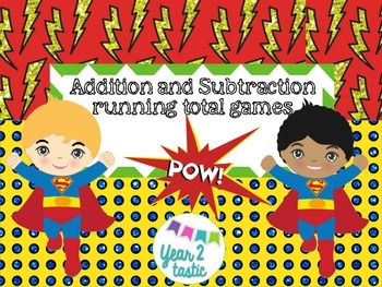Superhero Addition and Subtraction Games {year2tastic}
