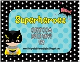 Superhero Classroom Decorative Set
