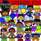Superhero KIDS {Creative Clips Digital Clipart}