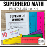 Superhero Math Pack