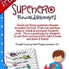 Superhero Reward Bracelets