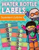 Superhero Water Bottle Labels (Hero H2O!)