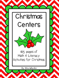Christmas Centers: Literacy & Math