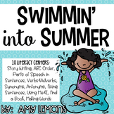 Swimmin' Into Summer {Summer-themed Literacy Centers)