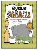Syllable Safari - Syllable Counting File Folder Game