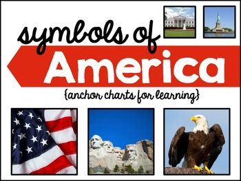 Memorial Day: Symbols of America Anchor Charts & Interacti