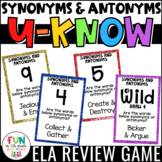 Synonyms and Antonyms Game