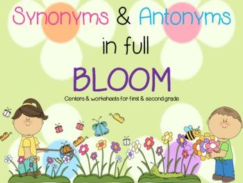Synonyms & Antonyms in full Bloom