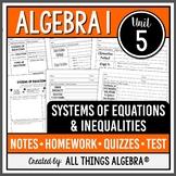 Algebra 1: Systems of Equations & Inequalities (Unit 5) -