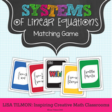 Systems of Equations {Linear} Matching Game