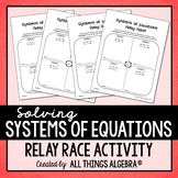 Systems of Equations: Relay Races