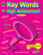 Key Words for High Achievement