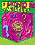 Mind Twisters: Grade 4 (Enhanced eBook)