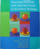 TEXTBOOK TEACHING STUDENTS WITH SPECIAL NEEDS IN INCLUSIVE