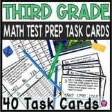 3RD GRADE TEST PREPARATION for MATH/CLIP TASKS/SCOOT GAME/