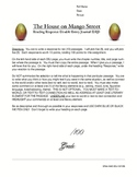 THE HOUSE ON MANGO STREET Reading Response Double Entry Journal