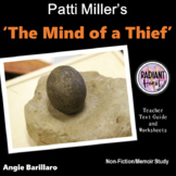 THE MIND OF A THIEF Teacher Text Guides and Worksheets