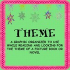 FREEBIE:  Theme (worksheet to use with a chapter book)