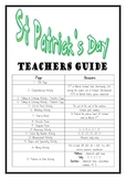 """THEME BOOKS"" - LOWER PRIMARY!! St Patricks Day Workbook!!"