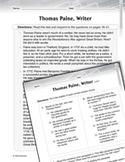 Language Arts Test Preparation Level 5 - Thomas Paine, Wri
