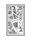 city map  1 PAGE (UNIVERSAL) NO WORDS-12 places