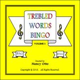 Trebled Words Bingo - Volume 1