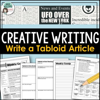 Expository / Creative Writing - Students Write a Tabloid Article