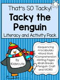 Tacky the Penguin {Mini- Unit} Activities, Worksheets, Pro