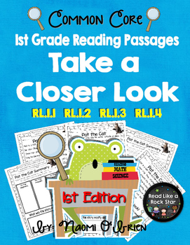 Take a Closer Look: Close Reading for First Grade (Common Core)