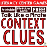 "FREEBIE:  ""Talk Like a Pirate!"" A Context Clues Game"