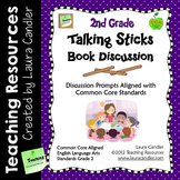 Reading Discussion Task Cards - 2nd Grade CCSS