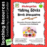 Reading Discussion Task Cards - Kindergarten CCSS