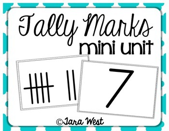 Tally Marks {a mini unit}
