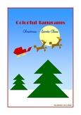 Tangram - Christmas - Santa Claus - Puzzle Cards & Math Mats
