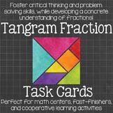 Tangram Fraction Task Cards
