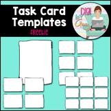 Task Card Templates - FREEBIE