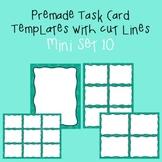 Task Card Template - Mini Set 10 - frames - borders
