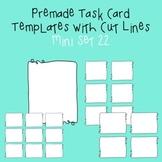 Task Card Template - Mini Set 22 - frames - borders