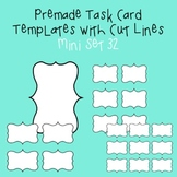 Task Card Template - Mini Set 32 - frames - borders
