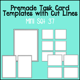 Task Card Template - Mini Set 37 - frames - borders