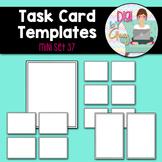 Task Card Templates clipart - MINI SET 37