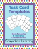Task Card Templates- Printables Templates - Commercial Use