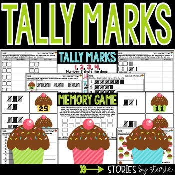 Tasty Tally Marks - A Memory Game & Worksheets