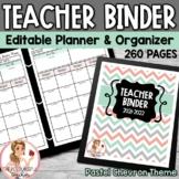 Teacher Binder 2015-2016 Editable