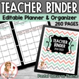 Teacher Binder 2015-2016 Editable