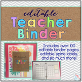 Teacher Binder { Tribal Herringbone } - Teacher Survival Binder