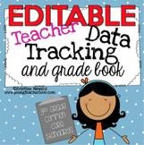 Teacher Data Tracking and Grade Book {3rd Grade Common Cor