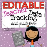 Teacher Data Tracking and Grade Book {4th Grade Common Cor