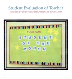 Teacher Evaluation by Students