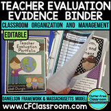 Teacher Evaluation Evidence Binder {Danielson Framework AN
